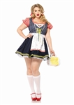 Oktoberfest Inga German Girl Costume - Plus Size