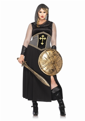 Plus Size Joan of Arc Medieval Costume