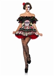 Day of the Dead Doll Costume - Dia de los Muertos