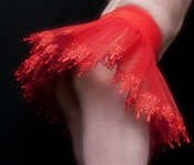 Red Lace Petticoat