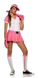 Baseball Girl Costume