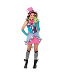 Teen Mayhem Mad Hatter Costume