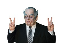Richard Nixon Parody Halloween Mask