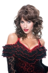 Adult Size French Kiss Bianca Wig - Dark Brown