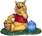 Winnie The Pooh Character Statuette - Accessory