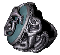 Jack Sparrow Pirates of the Caribbean Dragon Ring