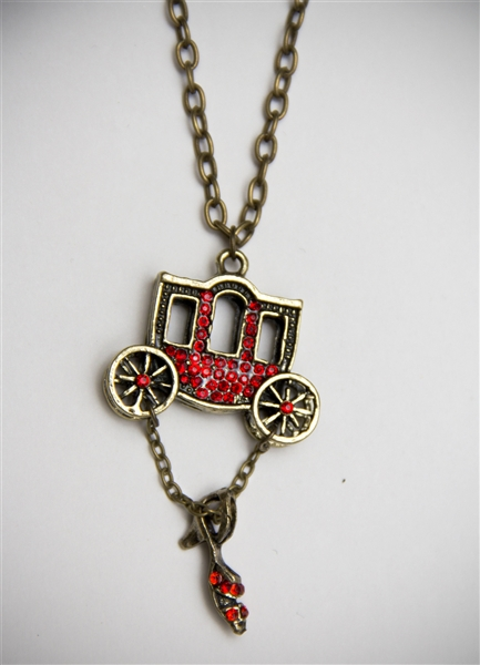 Old West Stagecoach Necklace