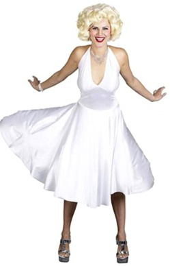 Marilyn Monroe White Dress Costume