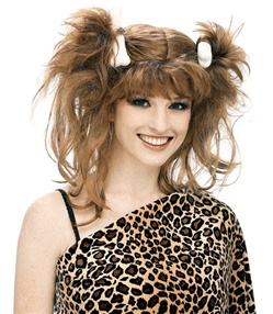 Pebbles Costume Wig