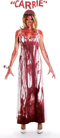 Carrie's Bloody Prom Dress