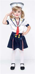 Sailor Girl - Toddler Costume