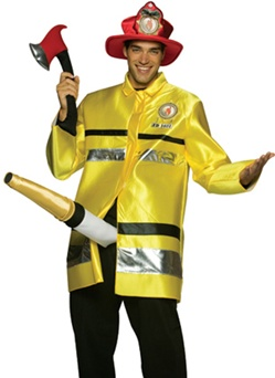 The Fire Extinguisher Costume - Adult