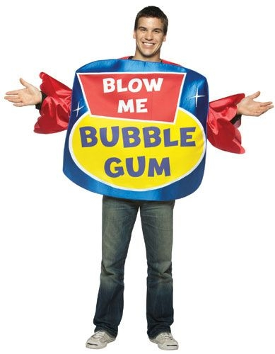 """Blow Me"" Bubble Gum Costume"