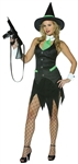 Adult Sexy Gangster Witch Costume