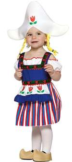 Lil Dutch Girl Costume - Infant