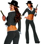 Sexy Mobster Adult Costume