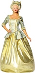 Adult Marie Antoinette Gold Costume