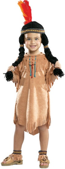 Child Indian Girl Costume