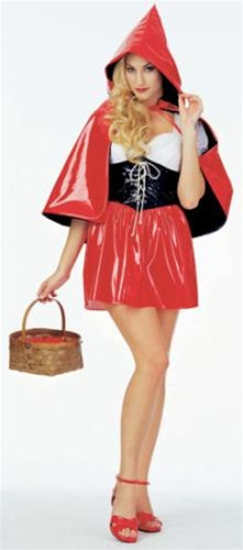 Vinyl Little Red Riding Hood Costume