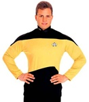 Star Trek The Next Generation Gold Crew Shirt
