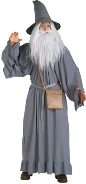 of the Rings -Deluxe Gandalf the Grey Costume
