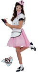 50's Soda Pop Girl Costume - Adult
