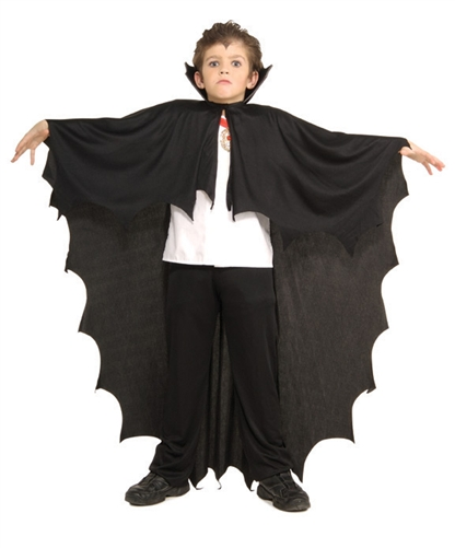 Boys Black Vampire Cape