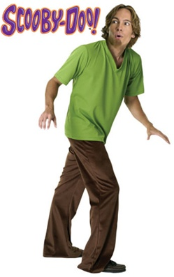 Shaggy Cartoon Costume