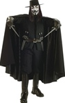 Deluxe V for Vendetta Adult Cape