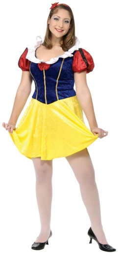 Plus Size Adult Snow White Costume