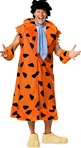 Big and Tall Adult Fred Flintstone Costume