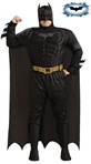 Big and Tall Adult Dark Knight Costume