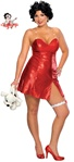 Deluxe Plus Size Adult Betty Boop Costume