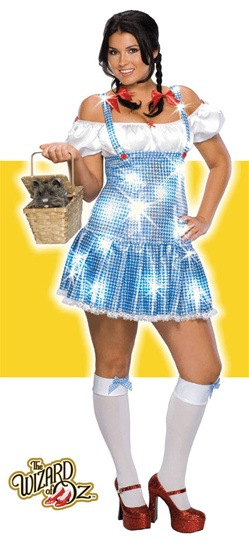 Sexy Plus Size Adult Dorothy Costume