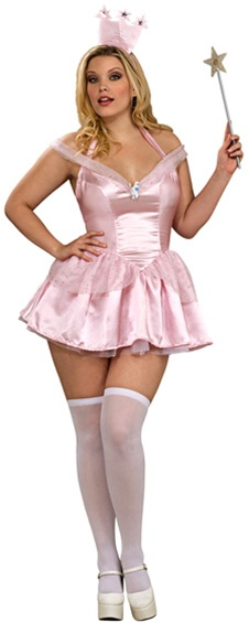 Plus Size Glinda the Good Witch Costume