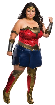 Plus Size Deluxe Wonder Woman Costume