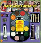 Super Deluxe Halloween Makeup Kit - Accessories
