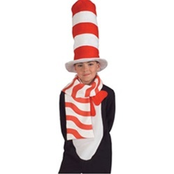 Cat in the Hat Child Scarf