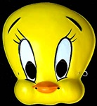 Looney Toons Child Tweety Bird Mask