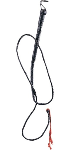 Accessory - 6 ft. Leather Bull Whip