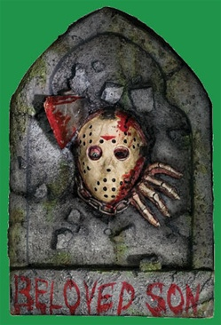 Friday the 13th Jason Voorhees Tombstone