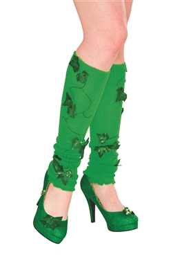 Poison Ivy Leg Warmers