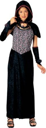 Child Gothic Dark Rose Maiden Costume