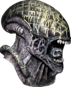 Deluxe Alien Adult Mask