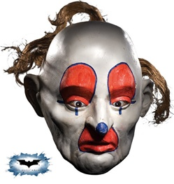 Dark Knight - Dopey Adult Clown Mask