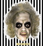 Beetlejuice Adult Mask with Hair