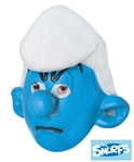 Adult Grouchy Mask - Smurfs