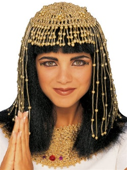 Mesh Adult Cleopatra Headpiece