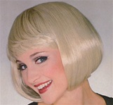 Short Blonde Supermodel Adult Wig