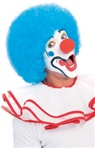 Blue Clown Adult Wig